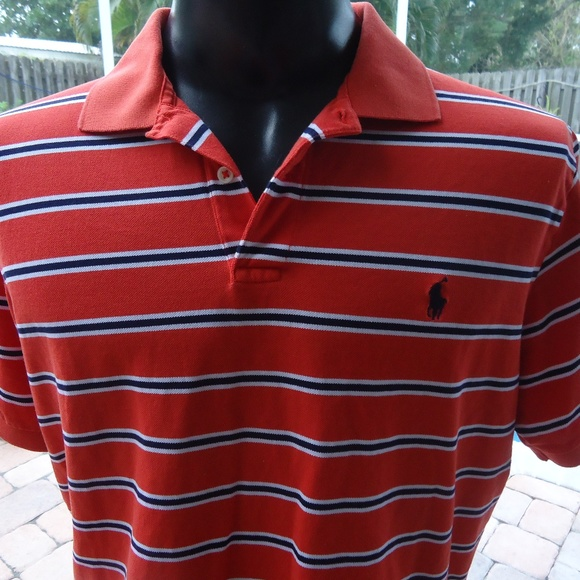 0e967eaf5 Polo by Ralph Lauren Shirts | Mens Ralph Lauren Large Striped Polo ...